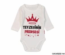 Teyzesinin Prensesi Uzun Kollu Bebek Badi