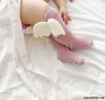 Melek Kanatlı Diz Altı Çorap