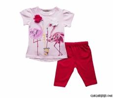Flamingo Taytlı Kız Takım