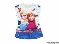 Karlar Ülkesi Kız Çocuk T-Shirt
