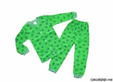 Kurbağalı Çocuk Pijama Takımı
