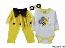 Arı Tütülü Badili Bebek Takım