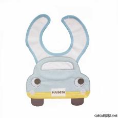 Arabalı Erkek Bebek Önlük