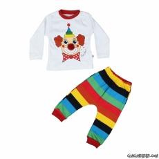 Palyaço Erkek Pijama Takımı