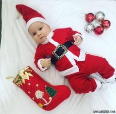 Noel Baba 3'lü Bebek Takım