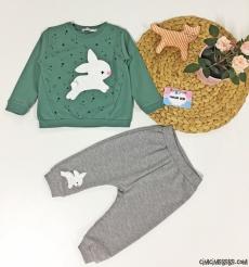 Minik Tavşan Bebek Takım