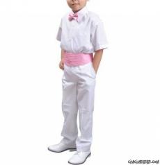 Erkek Çocuk Bel Kuşağı Papyon Set