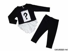 Pullu Soru İşareti Kız Çocuk Takım