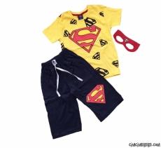 Maske Hediyeli Süpergüç Şortlu Takım