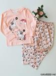 Unicorn Desenli Kız Çocuk Pijama Takımı