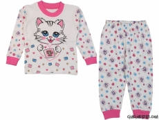 Kalpli Kedi Pijama Takımı