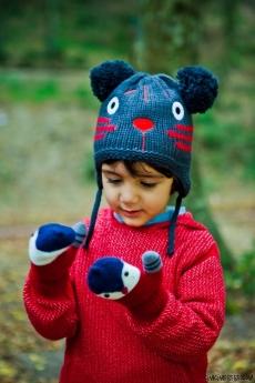 Ponponlu Erkek Çocuk Şapka