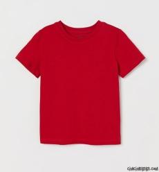 Düz Kırmızı T-Shirt