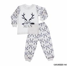 Little Man Erkek Çocuk Pijama Takımı