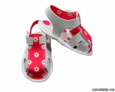 Kız Bebek Papatyalı Sandalet
