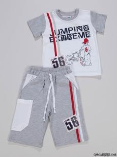 Jumping Extreme Erkek Çocuk Şortlu Takım