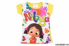 Dijital Baskılı Niloya T-Shirt