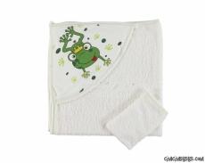 Kurbağa Figürlü Havlu Silgi