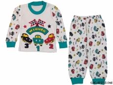 Araba Yarışı Pijama Takımı