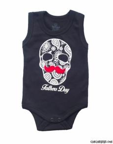 Babalar Günü Baskılı Bebe Badi