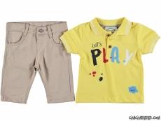 Play Lacostlu Pantolonlu  Bebek Takım