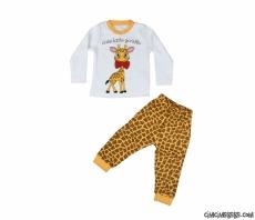Zürafa Figürlü Pijama Takımı