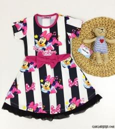 Love Miki Dalgıç Kız Çocuk Elbise