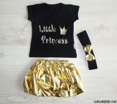 Little Princess Lameli Etekli Kokoş Takım