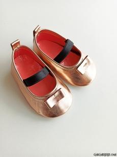 Lameli Kız Bebek Ayakkabı