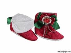 Noel Baba Bebek Patik