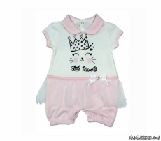 Little Princess Kısa Bebek Tulum