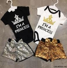 Prenses Pullu Şortlu Badili Takım