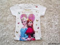 Paris Kısa Kollu Kız Çocuk T-Shirt