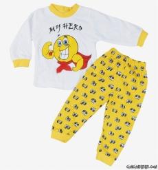 Hero Erkek Çocuk Pijama Takımı