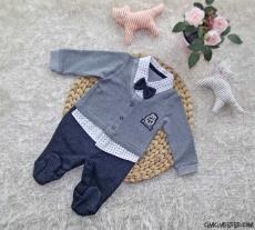 Sahte Gömlekli Erkek Bebek Tulum