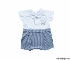 Erkek Bebek Kısa Yazlık Tulum