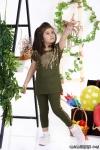 Şelale Pullu Kız Çocuk Takım