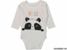 Hello Panda Uzun Kollu Bebek Badi