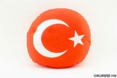 Türk Bayrağı Yastık