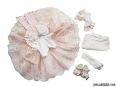 Fransız Dantelli Prenses Mevlütlük Set