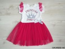 Prenses Kız Çocuk Tüllü Elbise