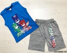 Pijamaskeliler Şortlu Erkek Çocuk Takım