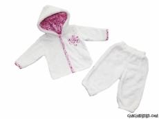 Welsoft Yumuşacık Kışlık Bebek Takım