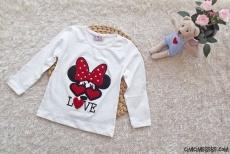 Love Kız Çocuk Penye Sweatshirt