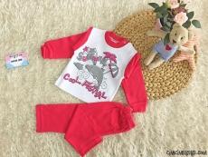 Kız Bebek Pijama Takımı