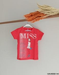 Miss Kız T-Shirt 5/8 Yaş