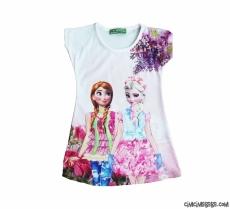 Havalı Kızlar Kız Çocuk Elbise