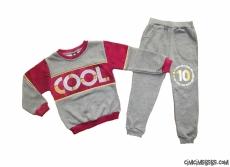 Cool Erkek Çocuk İçi Polar Eşofman Takımı