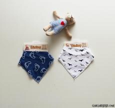 Erkek Bebek Fular Önlük