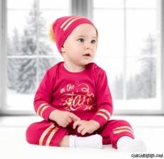 Star Ponponlu Şapkalı Tarz Tulum